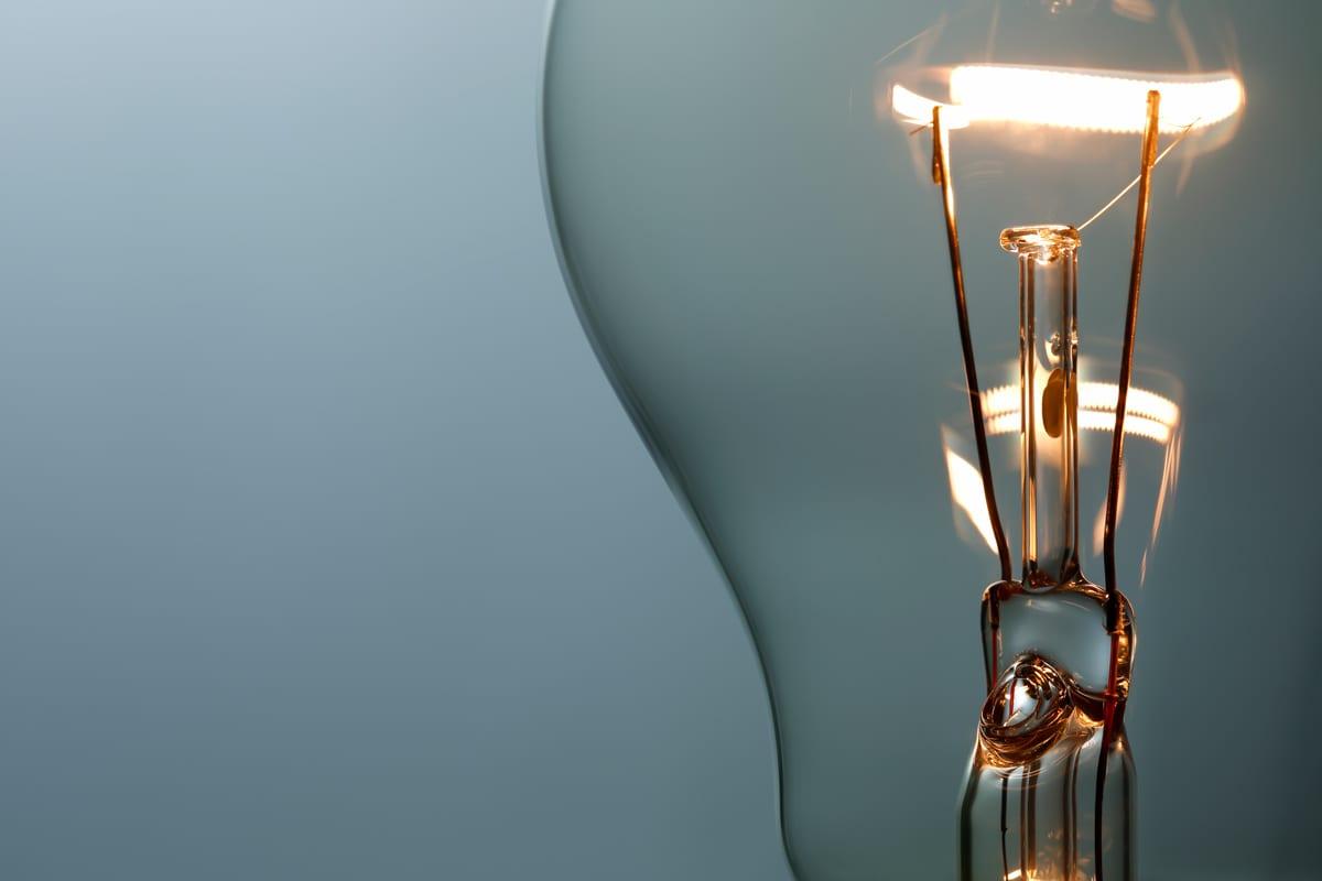 Lightbulb closeup
